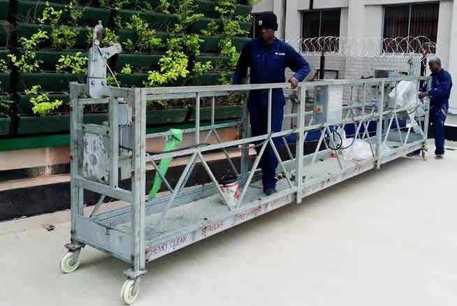 Suspended Cradle Platforms Rental Service in Nigeria